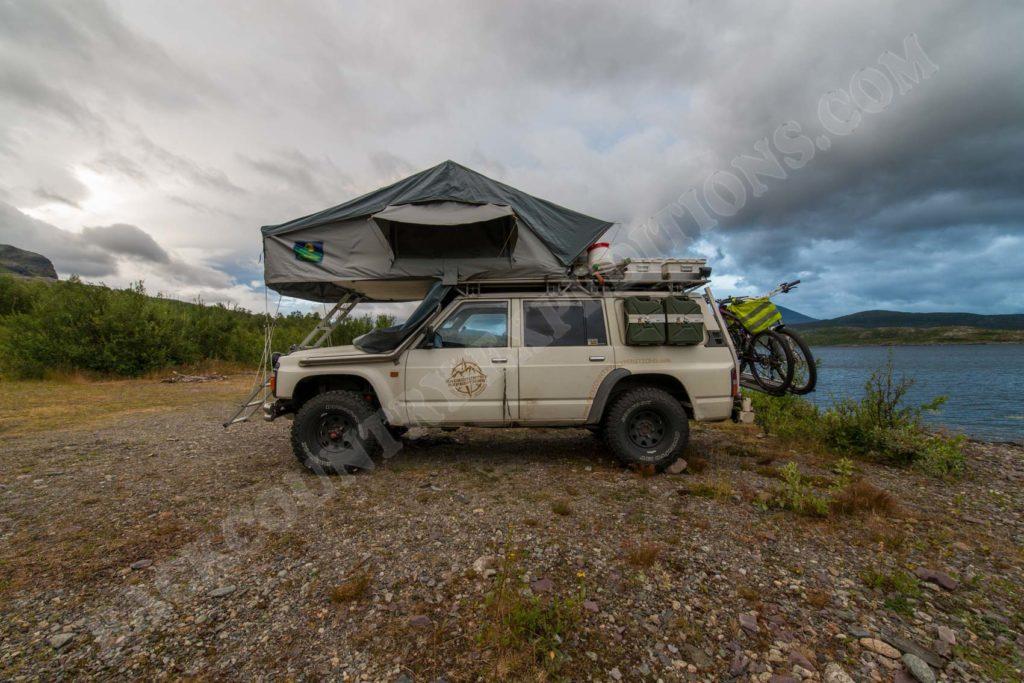 Dachzelt 4x4 Offrad Nissan Patrol Geländewagen